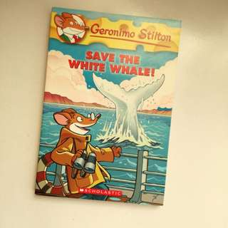 Geronimo Stilton Save The White Whale