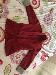 CCI Wine Red Jacket