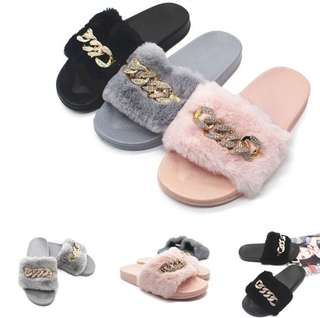 Fluffy chain slides