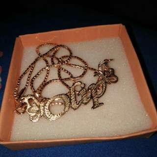 Custome Necklace name