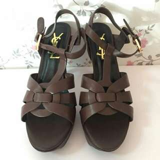 USED YSL TRIBUTE BROWN SIZE 38