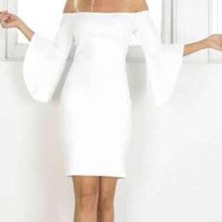White Showpo Dress Size 8