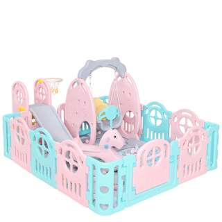 Baby play yard,  playpen, fence