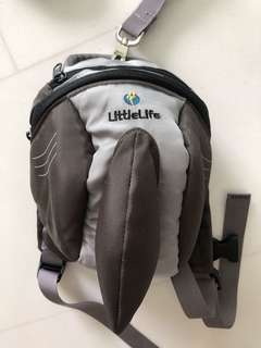 Little life shark bag with harness