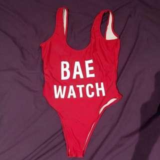 Bae Watch One Piece Swimsuit