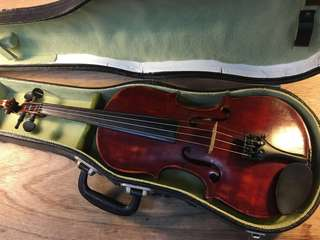 Antique 3/4 Violin Matteo Goffriller fecit Venetijis anno 1726 古董 意大利 小提琴 連原裝盒 極舊