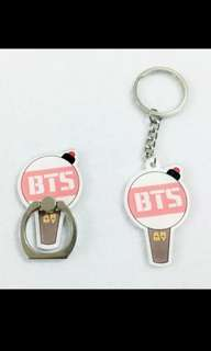 [PO] BTS Acrylic Keychain and Iring