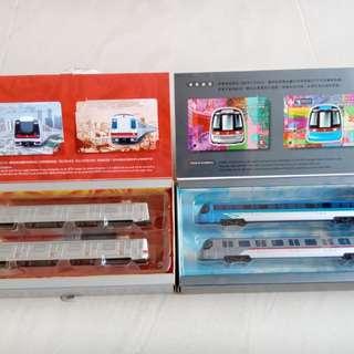 列車模型 地鐵 港鐵