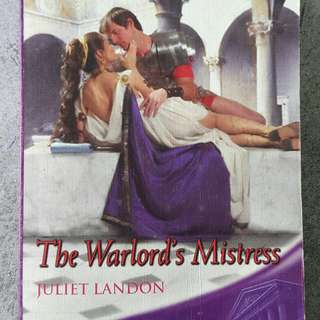 The Warlord's Mistress by Juliet Landon
