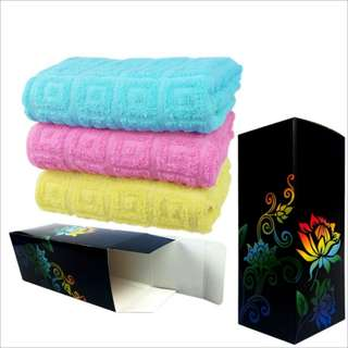 High-grade cotton gift box towel 高档纯棉礼盒毛巾    预收款 一周内发货