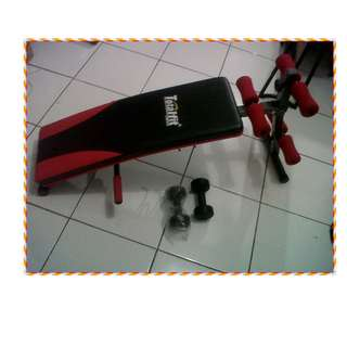 Sit Up Bench Press TOTAL Fitness Six Pack Care Terlaris