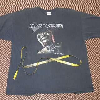 Iron maiden 2001 dance of death tour tshirt xl