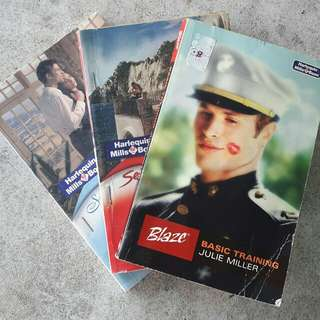 Novels from Harlequin Mills & Boon