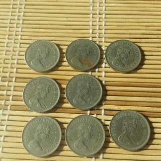 香港硬幣女皇頭