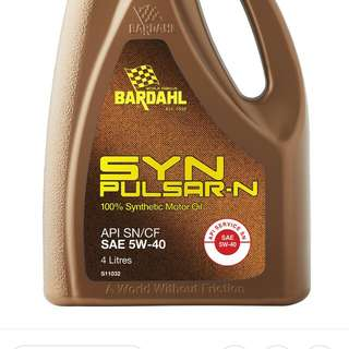 SYNTHETIC OIL SYNPULSAR-N