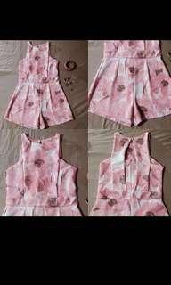 Floral Pastel Jump Shorts