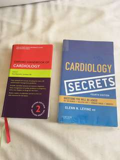 Cardiology pocket size books