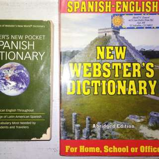 Webster's Spanish Dictionary