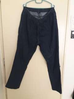 Plus size woman jeans
