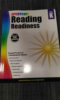Reading readiness workbook Pre-k