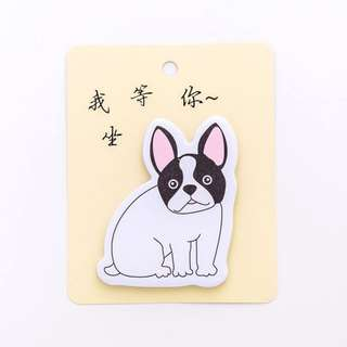 3pcs Sticky Note Cute Puppy