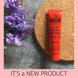 NEW ! Lucas Papaw Ointment 25gr Original