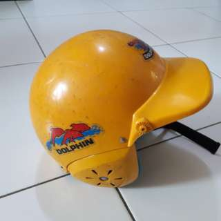 Dolphin Kids Helmet (Yellow)