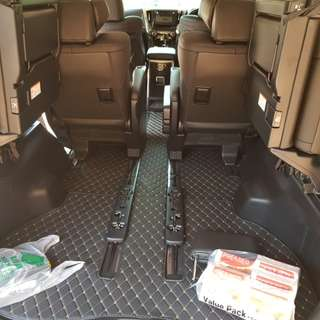 Carpet for vellfire 2015-2017 and alpha