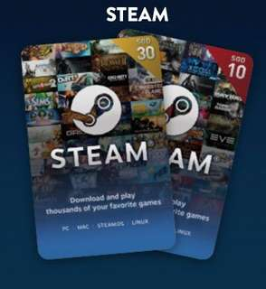 Steam Wallet Voucher code
