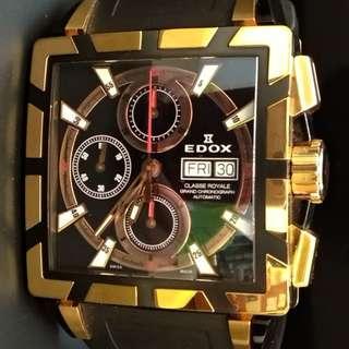 Edox classe royale grand chronograph