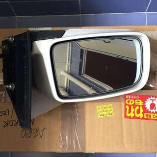 Stock white side mirror for Lancer GLX 1 pair