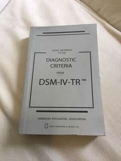 DSM 4 psychiatry