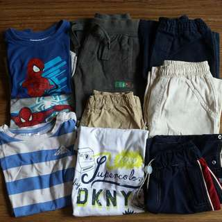 9 Pieces Boys Clothings Bundle B