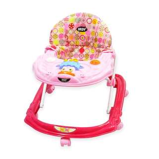 Irdy Musical Baby Walker with Push Handle & Stopper
