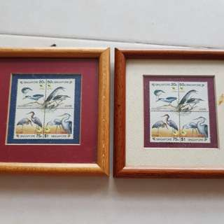 Singapore 1994  2 set Bird collection Stamps
