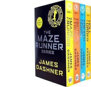 James Dashner The Maze Runner The Scorch Trials The Death Cure The Kill Order Book Set English