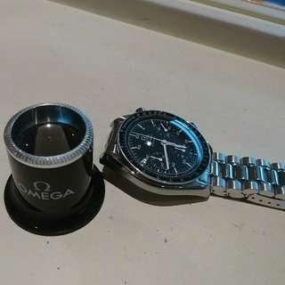 極小帶亚米茄手錶(千禧年2000只限量版)95%有二十個月原廠保養
