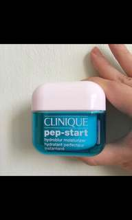 BN Clinique Pep Start hydroblur moisturiser