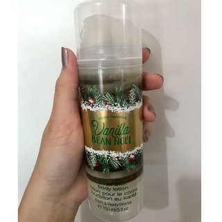BBW Vanilla Bean Noel Body Lotion