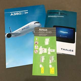 Airbus A350-1000 Safety Card Set