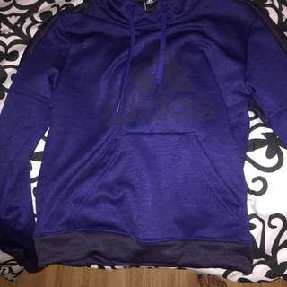 Adidas pull over size small