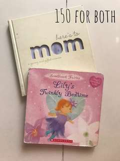 Bundle book #1 - Here's to Mom & Lily's Twinkly Bedtime