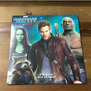 Guardians of the Galaxy (Vol. 2) 2018 Calender