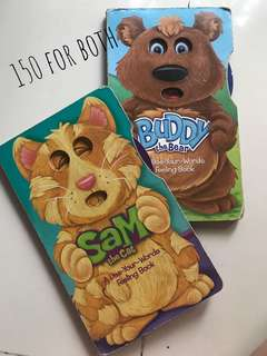 Bundle book #2 - Buddy the Bear & Sam the Cat