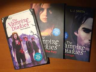 The Vampire Diaries - L.J. Smith