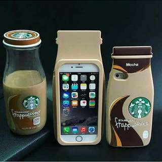 3D starbuck frappuccino bottle case