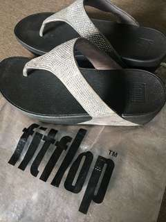 Fitflop Gray Slippers