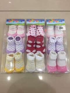 Baby Socks 3 in 1