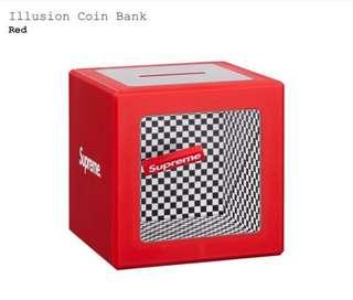 Supreme Illusion Coin Bank