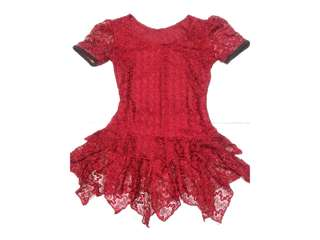 Item #9. Girly Maroon Type Top